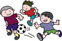地域親子ふれあいサッカー開催