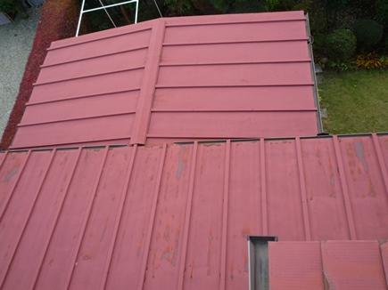 屋根塗装工事前2.JPG