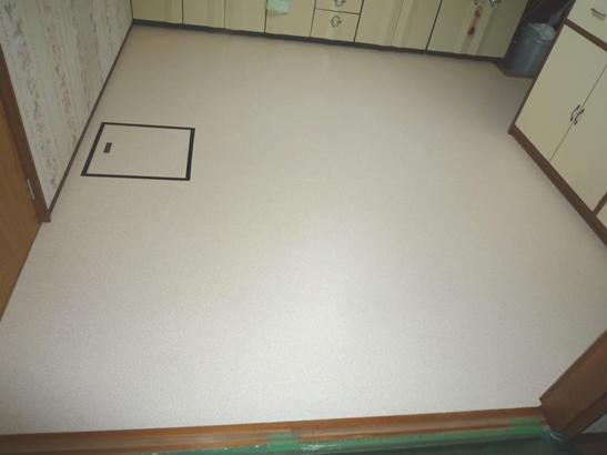 台所クッションフロア床補修後.JPG
