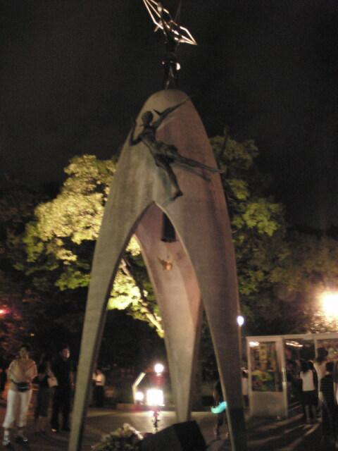 平和の子の像