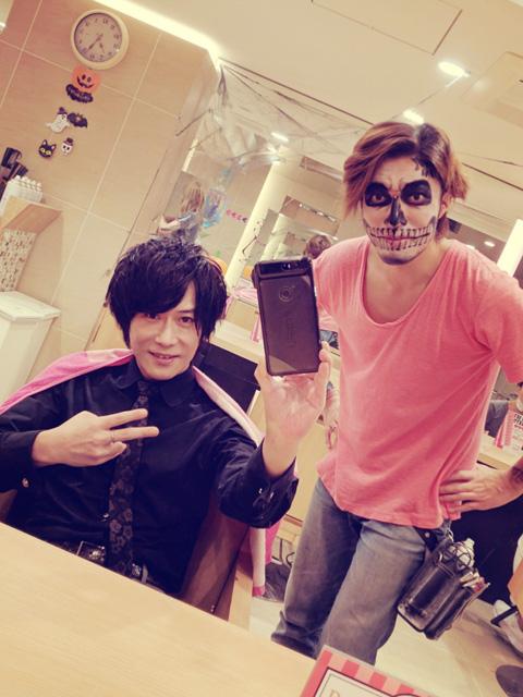 歌舞伎町ホストのヘアメイクサロン