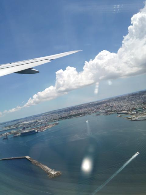 沖縄の空撮