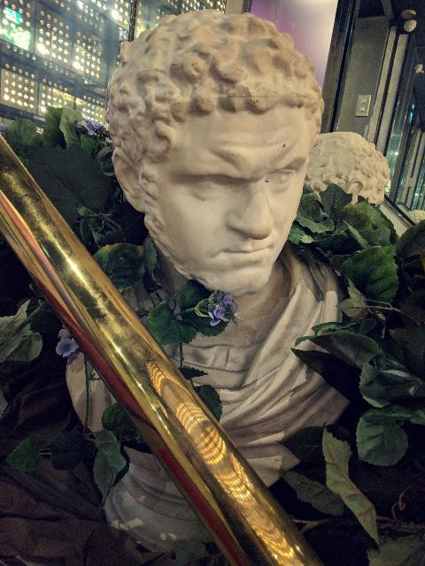 古代ギリシャ・ローマ時代のカラカラ帝胸像