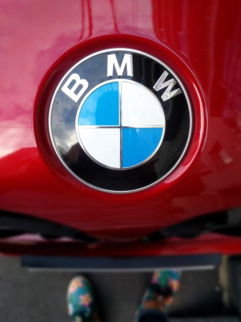 BMWのロゴマーク