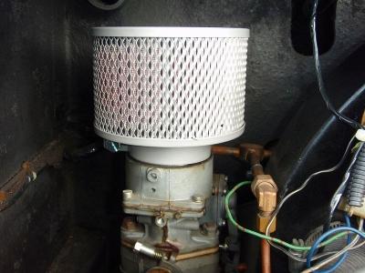 インターメカニカ ポルシェ356 レプリカ エアクリーナー