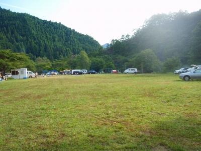 魚ヶ壷荘キャンプ場 ニューパンダ