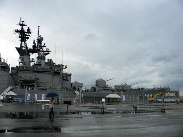 2006.5.27 博多港中央埠頭に接岸した護衛艦くらま