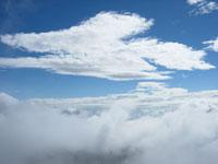 乗鞍 富士見岳より空