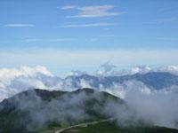 乗鞍 富士見岳より山並み