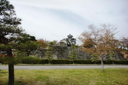 白河小峰城はまだ立入禁止
