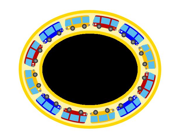 バスの飾り枠2