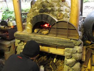 石窯作り体験