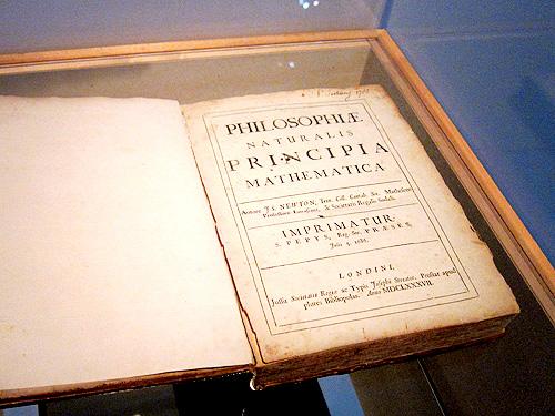 アイザック・<strong>ニュートン</strong>『自然哲学の数学的原理(プリンキピア)』