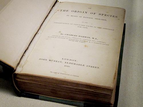 チャールズ・ロバート・ダーウィン『種の起源』