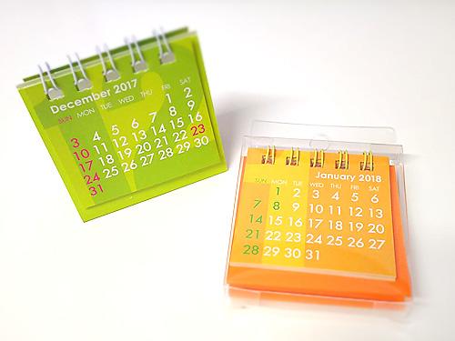 卓上用 超ミニカレンダー:Z&Kの「Mini Mini ミニミニ カレンダー 卓上」