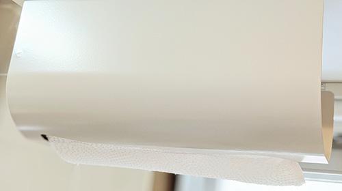 オークス 日本製 ウチフィット キッチンペーパー ホルダー ホワイト UFS3WH