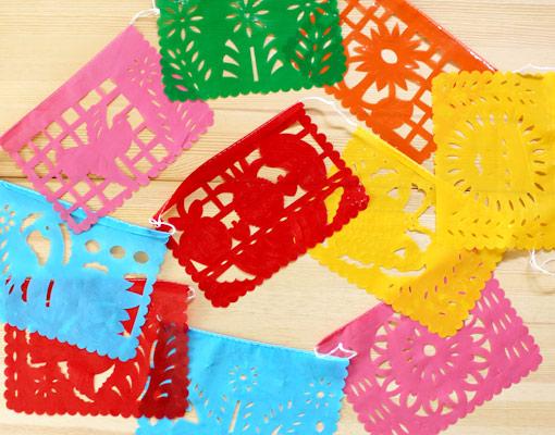 メキシコの切り絵飾り「パペル・ピカド」入荷
