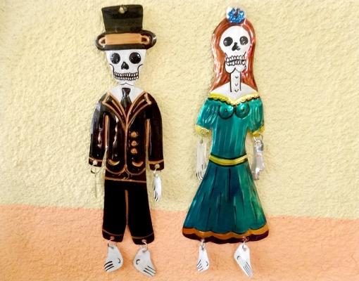 メキシコのガイコツ「死者の日」グッズ