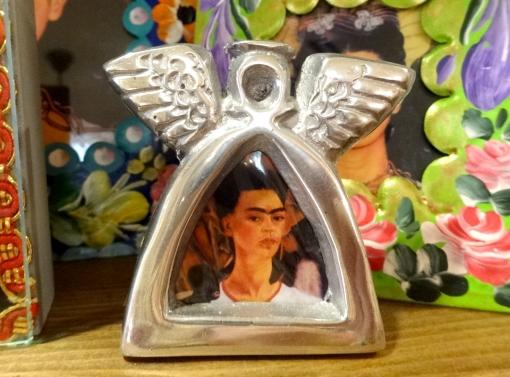 メキシコ フリーダ・カーロの天使のフレーム
