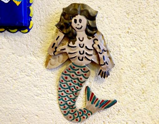 メキシコ ガイコツ+人魚モチーフのオーナメント