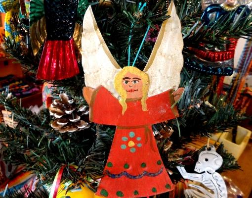 メキシコ ブリキの天使オーナメント