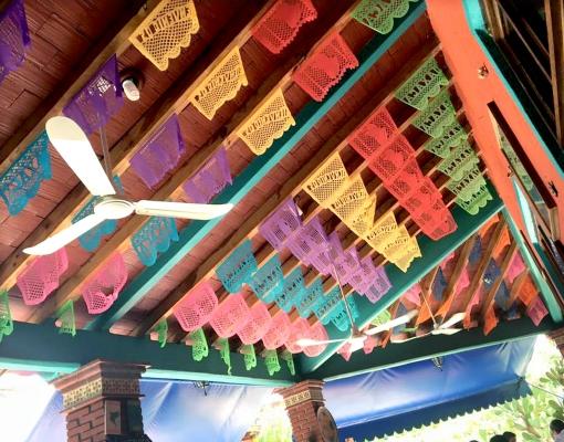 メキシコ切り絵飾りパペルピカド