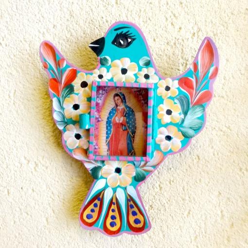 メキシコのトリモチーフのマリア様ニチョ