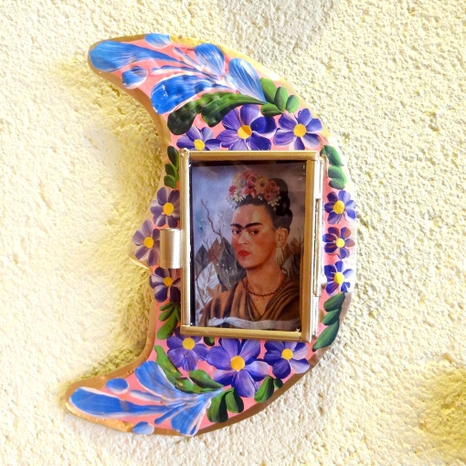 メキシコのブリキボックス「ニチョ」フリーダ・カーロ