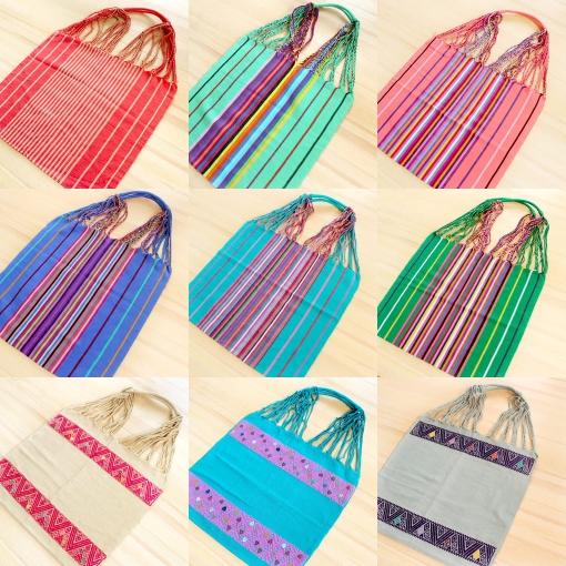 メキシコチアパスの手織りバッグ