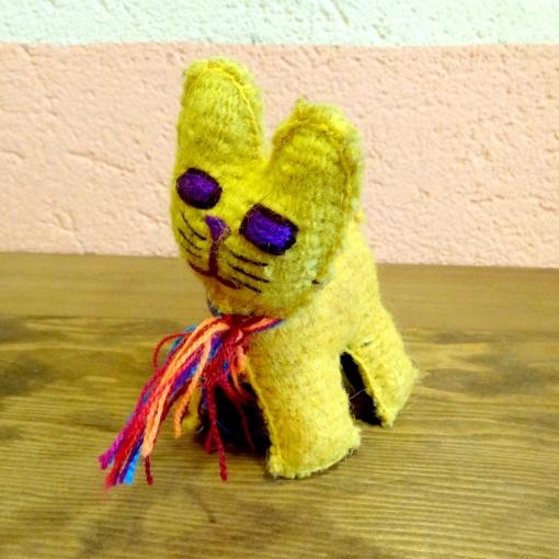 メキシコのぬいぐるみアニマリートの猫