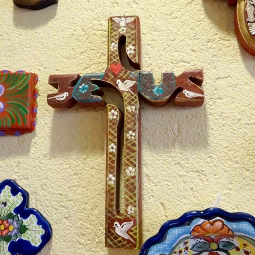 メキシコのJESUS十字架
