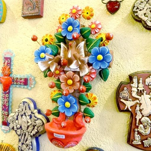 メキシコの生命の樹の十字架