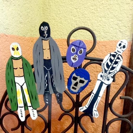 メキシコプロレスルチャリブレのマグネット