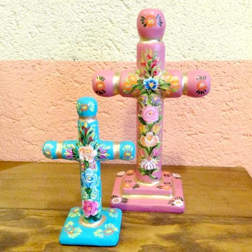 メキシコのスタンド型十字架[Pick Up]