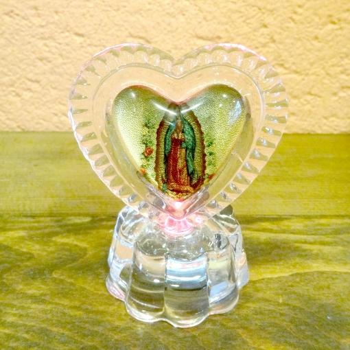 メキシコのグアダルーペのマリア様置物
