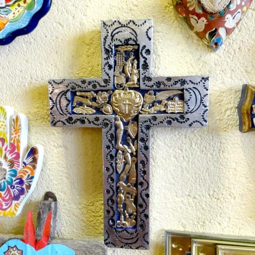メキシコのミラグロがついた十字架[Pick Up]
