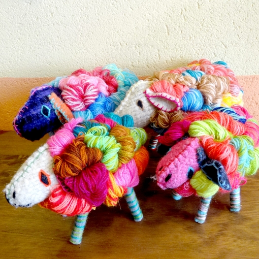 メキシコの動物のぬいぐるみ「アニマリート」