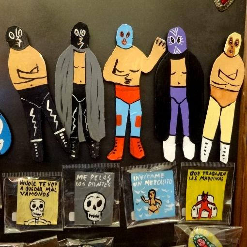 メキシコオアハカのアーティストボノラさんのマグネット