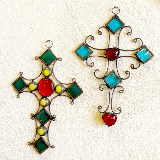 メキシコのガラスの十字架