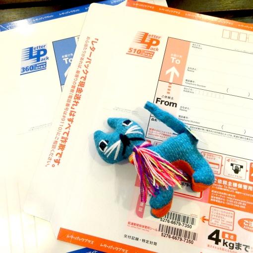 日本郵便レターパック ライトとプラスを配送方法に追加しました!!
