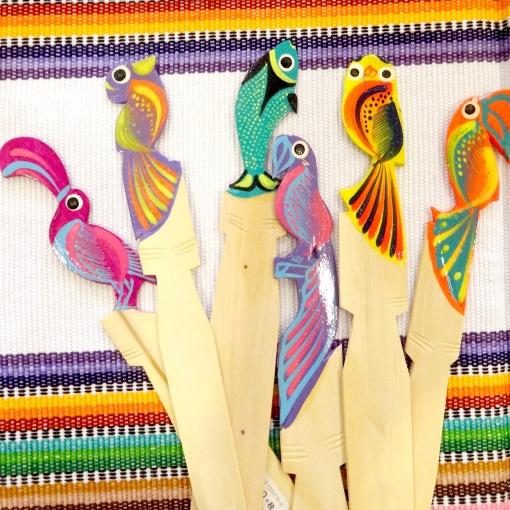 メキシコオアハカのカラフルブックマーク