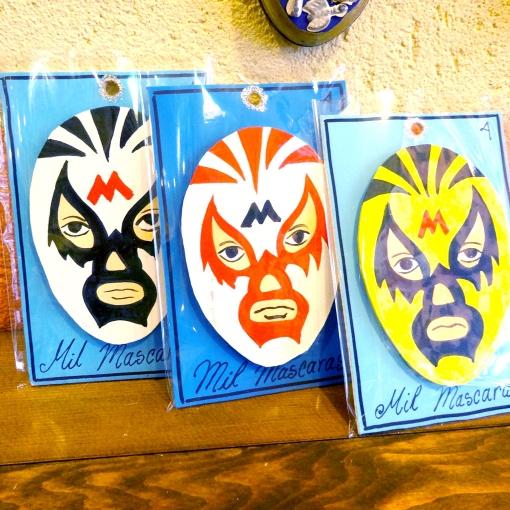 メキシコプロレス「ルチャリブレ」の壁飾り