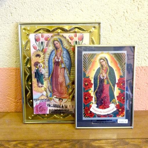 メキシコのグアダルーペの聖母マリア様のフレーム