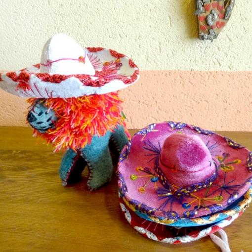 メキシコの帽子「ソンブレロ」のミニサイズ