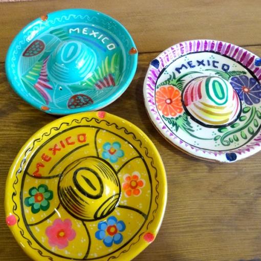 メキシコのソンブレロ型灰皿