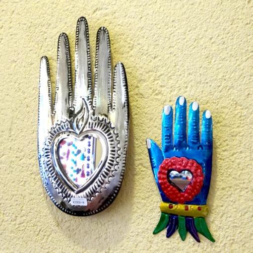 メキシコオアハカのブリキミラー