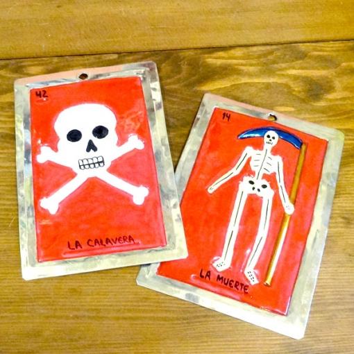 メキシコのカードゲーム「ロテリア」のオーナメント