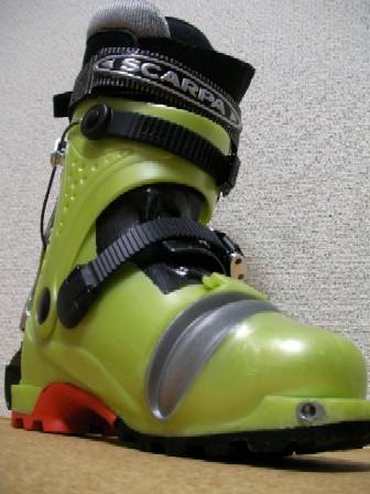 スカルパ山岳レース用ブーツ、F1