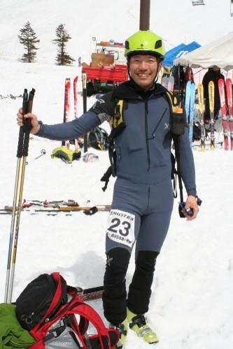 山岳レース姿の僕です