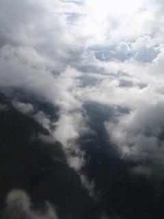 ヘリからの景色